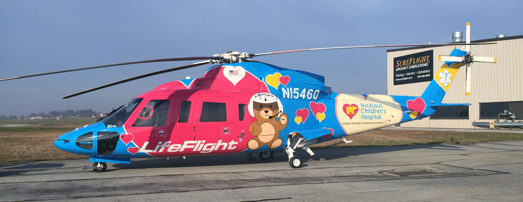 Axalta partners with SureFlight to refinish helicopters ...