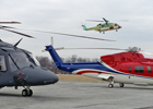 AW139 & S-76 going out, S-92 coming in
