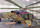 AgustaWestland AW139 Tape Masked for Custom Paint