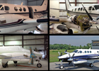 King Air C90 Before, In Process, After.
