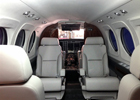 King Air C90 Forward Cabin