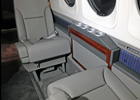 King Air C90 Drink Rails, Ledges, Sidewalls, Card Table