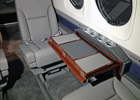 King Air C90 Card Table