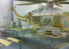 Helicopter Parts Painting OEM